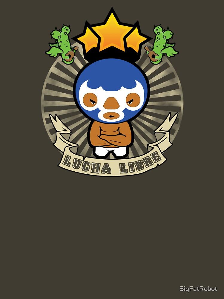 Lucha Libre by BigFatRobot