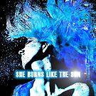 « Muse sunburn blue » par clad63