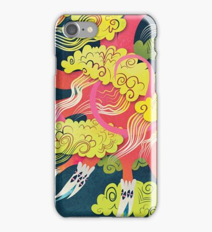 dragon in the sky iPhone Case/Skin
