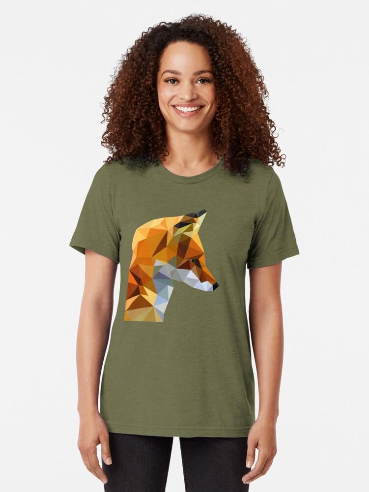 Alternate view of LP Fox Tri-blend T-Shirt