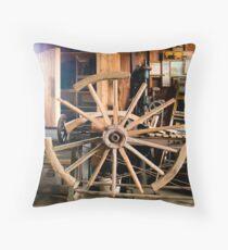 The Wheelwright Shop Throw Pillow