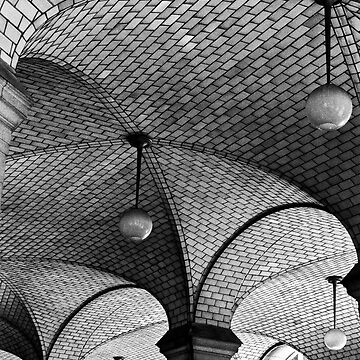 NYC Subway Station Ceiling by HouseofSixCats