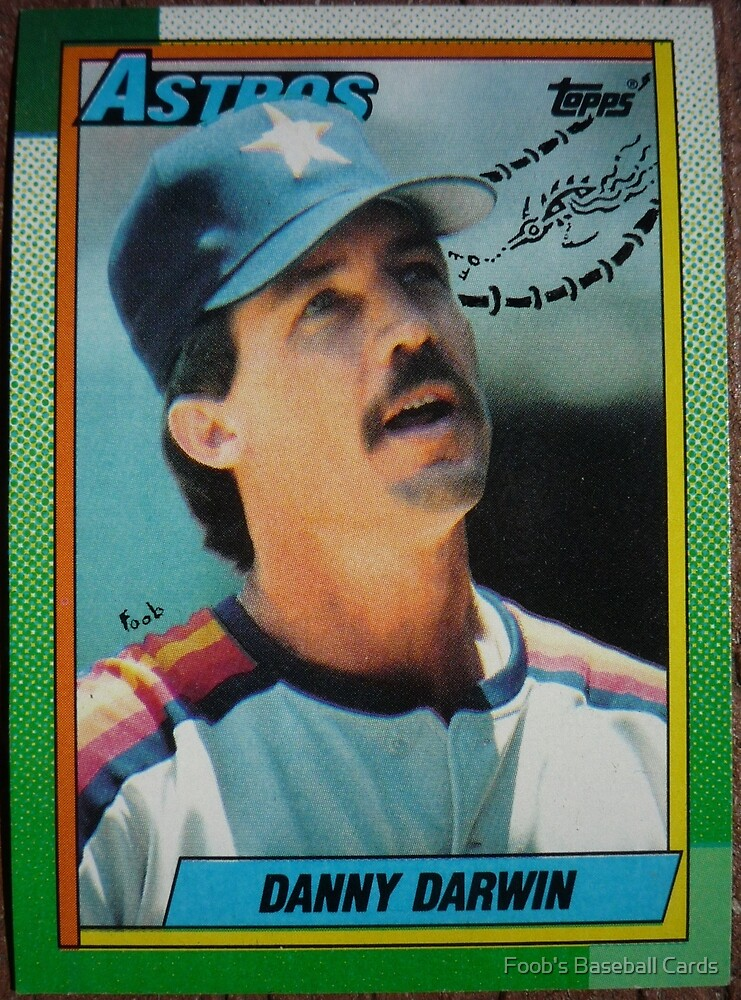 264 - Danny Darwin by Foob's Baseball Cards