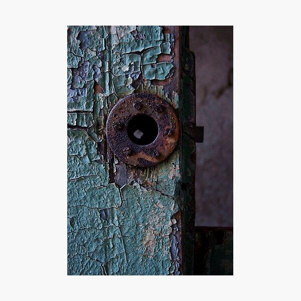 Rusty Lock Photographic Print