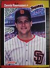 265 - Dennis Rasmussen by Foob's Baseball Cards