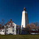 Sandy Hook Lighthouse by Debra Fedchin