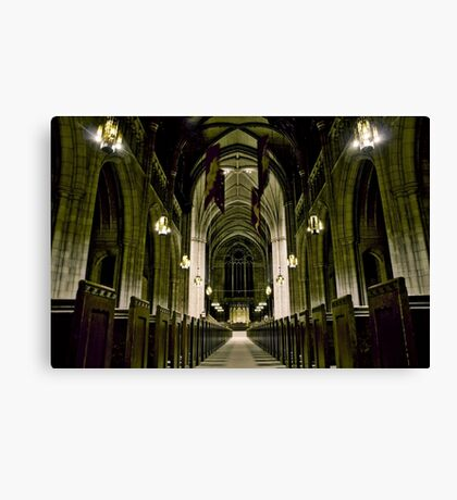 Princeton University Chapel Canvas Print