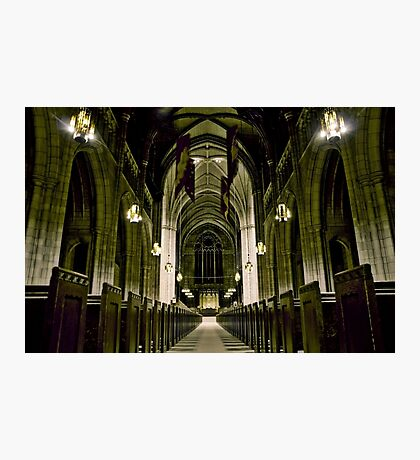 Princeton University Chapel Photographic Print