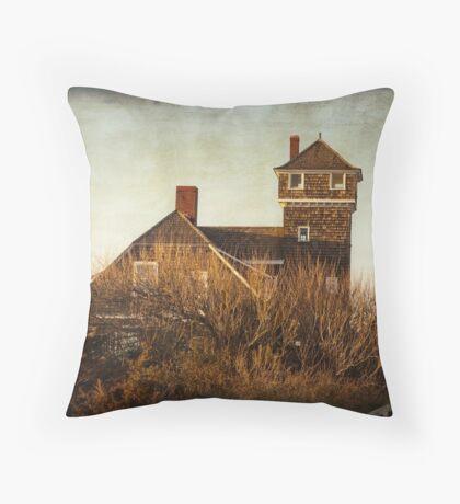 Environmental Center on Sandy Hook Throw Pillow