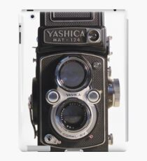 Yashica Mat 124 TLR medium format iPad Case/Skin