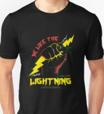 Be Like The LIGHTNING (Luke 17:24) color T-Shirt
