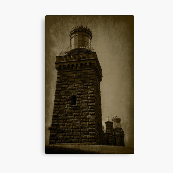 Twin Lights of the Navesink Canvas Print