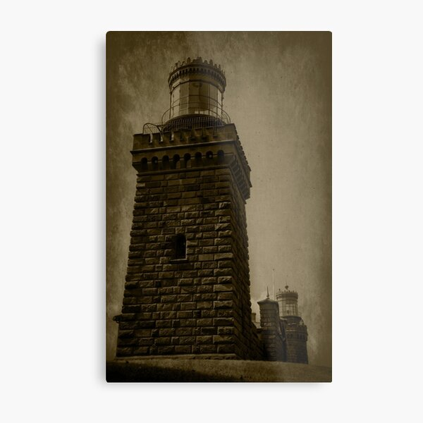 Twin Lights of the Navesink Metal Print