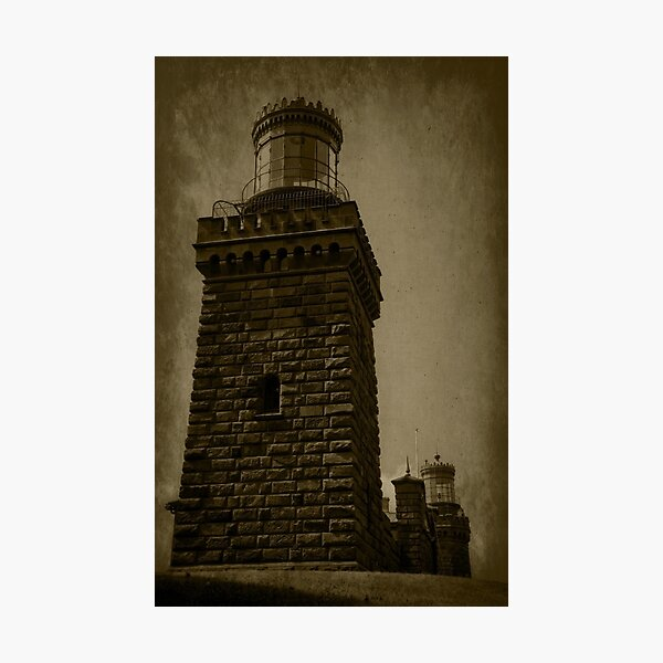 Twin Lights of the Navesink Photographic Print