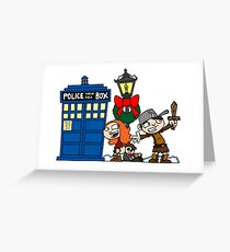 Raggedy-man Christmas! Greeting Card