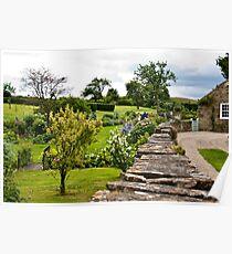 A Country Garden Poster