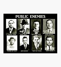 Public Enemies Photographic Print
