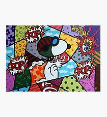 Snoopy POP Photographic Print