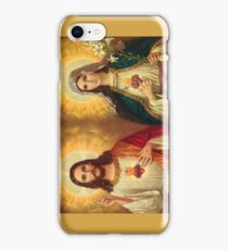 Virgin Mary and Jesus Immaculate Heart Religion Catholic iPhone Case/Skin