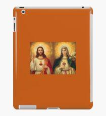 Jungfrau Maria und Jesus Unbeflecktes Herz Religion Katholik iPad-Hülle & Klebefolie