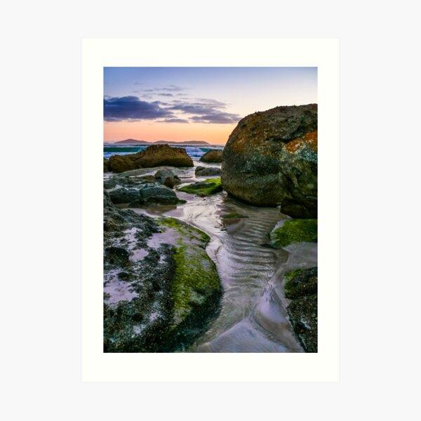 Squeaky Beach (Wilson's Promontory) Australia Art Print