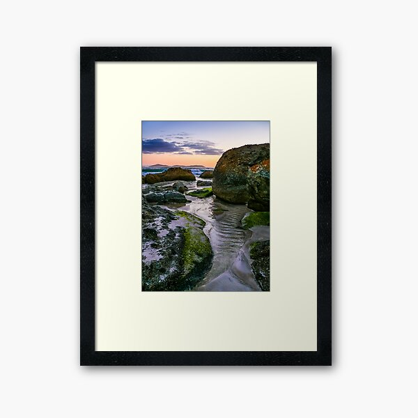 Squeaky Beach (Wilson's Promontory) Australia Framed Art Print