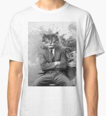 Gangster Cat Pepe Psyche Classic T-Shirt