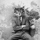 Gangster Cat Pepe Psyche by Pepe Psyche