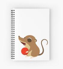 Mossy - Berry Spiral Notebook