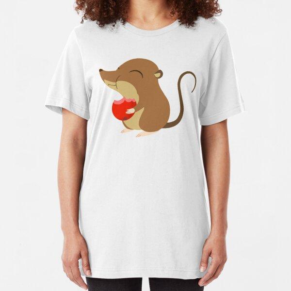 Mossy - Happy Berry Munch Slim Fit T-Shirt