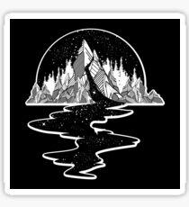 River of stars Sticker