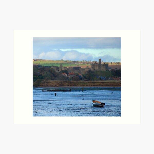Amble harbour....... Art Print