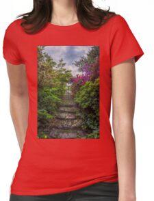 Enchanted Garden Womens Fitted T-Shirt