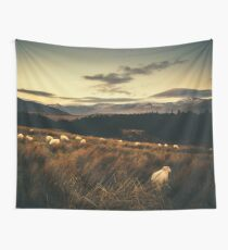 Wool Top Mountain Wall Tapestry