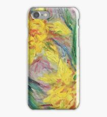 Claude Monet - Narcisses 1882 iPhone Case/Skin