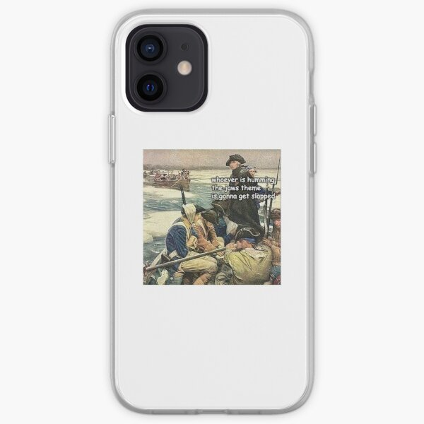 History Jaws Meme Funny iPhone Soft Case