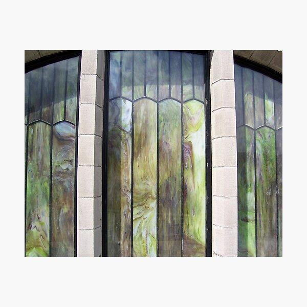 Marbled Windows Photographic Print