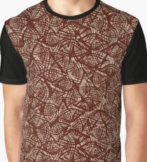 Eco wooden pattern Graphic T-Shirt