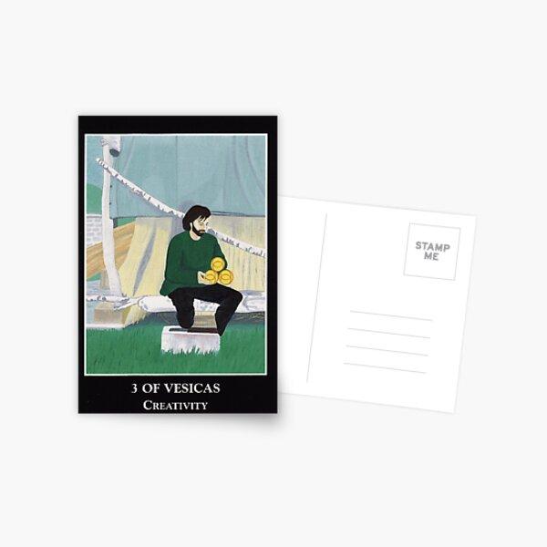 3 of Vesicas - Creativity Postcard