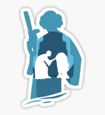 Princess Leia Sticker