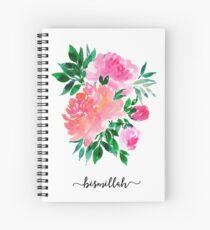 Bismillah Blumenstrauß Spiralblock