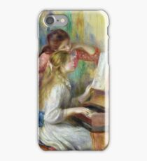 Auguste Renoir - Young Girls At The Piano iPhone Case/Skin