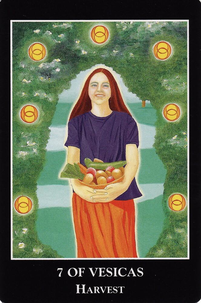 7 of Vesicas - Harvest by Lisa Tenzin-Dolma