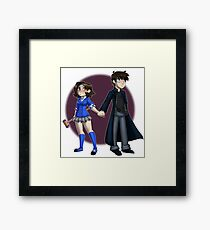 Veronica & JD Framed Print
