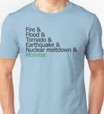 Sim City Disasters Unisex T-Shirt
