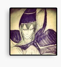 dark magician yu gi oh Canvas Print