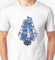 Pirate Ship [Multicolored] Unisex T-Shirt