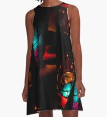 Dark Lights 1 A-Line Dress