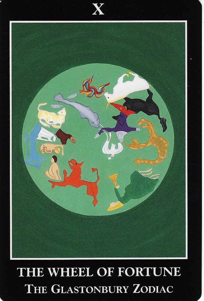 The Wheel of Fortune - The Glastonbury Zodiac by Lisa Tenzin-Dolma