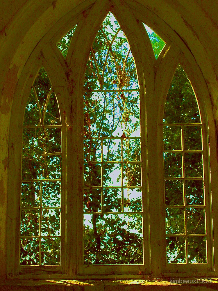 Window to Heaven #2; St. Mary Church  by kimbeaux1969